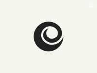 Logo: Letter C, Chameleon