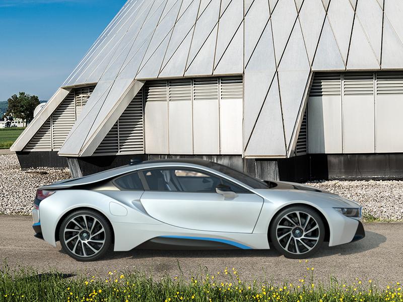Bmw i8 - Outdoor shots rendering car 3ds max i8 photoreal 3d sports car automotive hybrid render cgi bmw