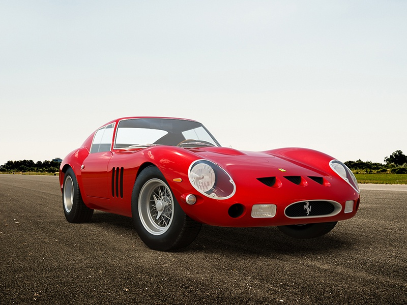 Ferrari 250 GTO 3ds max cg render 3d vray automotive italian ferrari 250 gto car cgi classic
