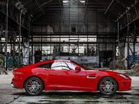 Red Jaguar F-TYPE R Coupé