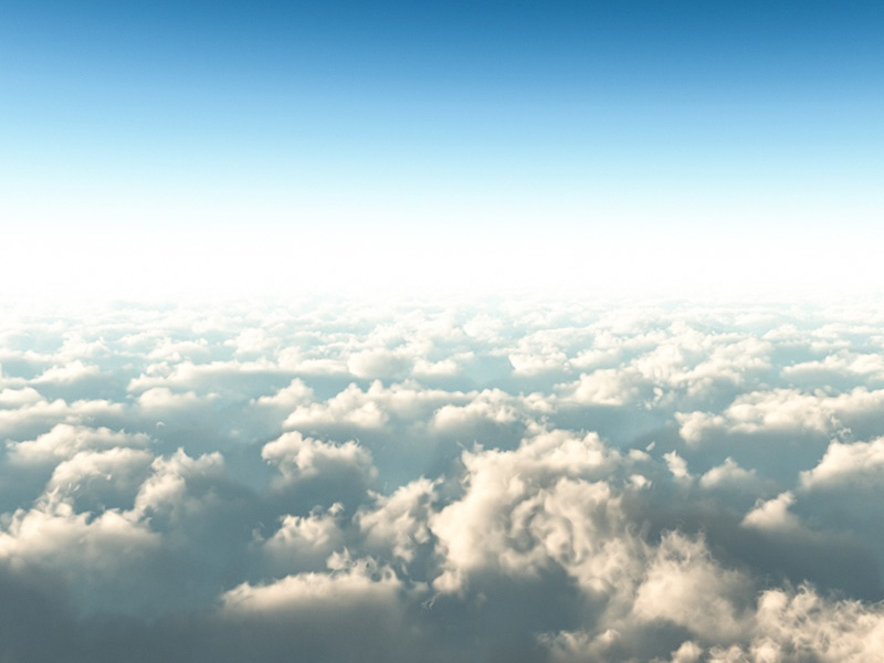 Bright sky above the clouds 3d rendering 3ds max sky clouds cgi cg