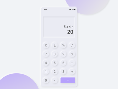 dailyui 004 challenge design a calculator clean ui cooldesign daily 100 challenge dailyui004 ui dailywebdesign dailychallenge daily ui dailyui