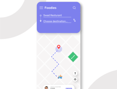 Location Tracker #Daily UI 020 vector typography ux ui