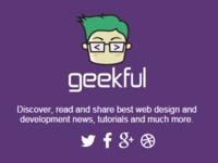 Geekful Coming Soon page