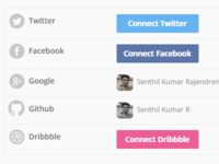Geekful - Social accounts management