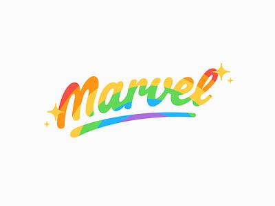 Happy Pride Month! rainbow treatment logo pride