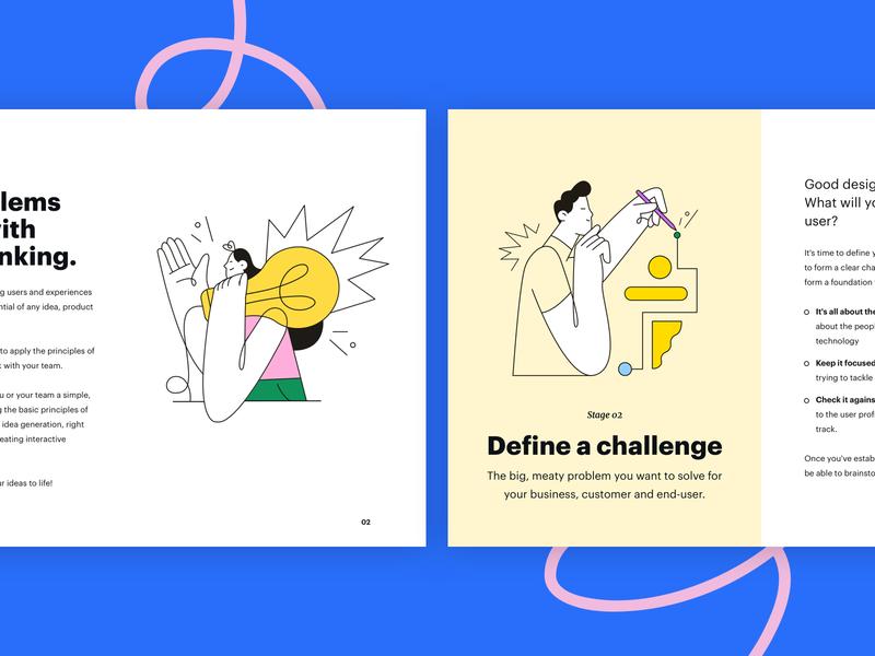 The Design Thinking Workshop Kit workshop design booklet pastel kit presentation workbook design thinking