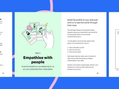 Design Thinking Workshop Kit process design sprint presentation booklet workshop design thinking