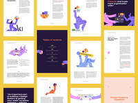 Getting Started with Design Systems eBook design textures illustration ebook design systems