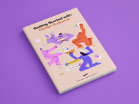 Getting Started with Design Systems Cover design elements pattern illustration design systems