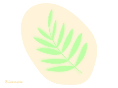 The beautiful green of the summer drawing design illustration