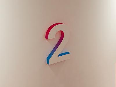 001_PBP_2Gradient sign signage wall interior gradient type 2 c4d