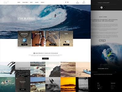 E-commerce ui white black design ecommerce eshop