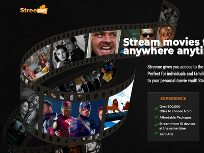Stream Movies CTA/Landing