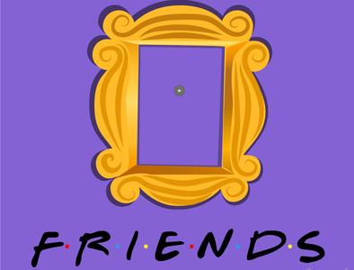 FRIENDS design illustrator illustration caricatura