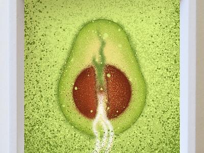 Inktober Day 20: Sprout green sprout avocado marketing merchandise apparel tshirt design motion graphics graphic design logo branding digital painting photoshop illustration design