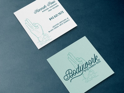 Bodywork Logo and Card Design