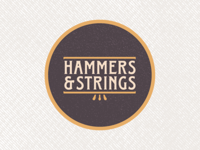 Hammers & Strings Logo