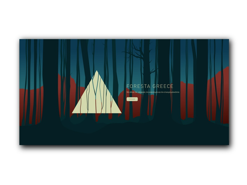 Foresta Greece webdesignagency branding userinterface uxdesign uidesign ux uiux ui webdesigns webdesigner website webdesign web