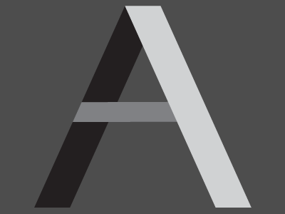 A is for Awesome design illustration typography