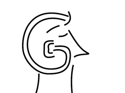 G is for Gledhill icon illustration