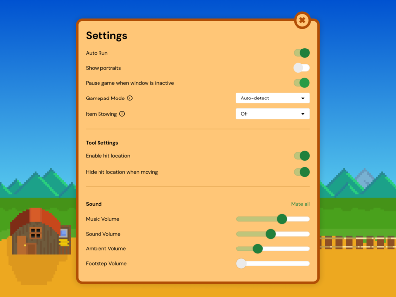 Daily UI - Settings