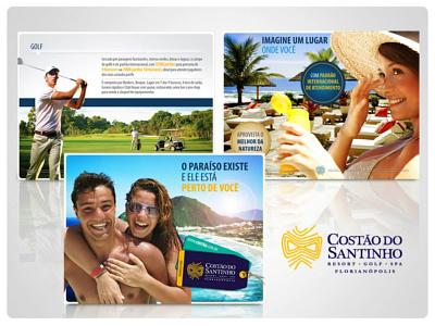 Apresentação de Venda Costão do Santinho presentation design
