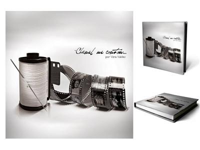 """Capa do livro de mesa da exposição """"Chanel me contou..."""" coverbook"""