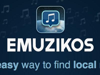 Emuzikos beta homepage music webapp emuzikos rails mailchimp
