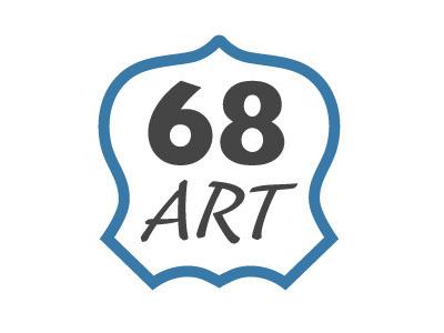 68 ART logo