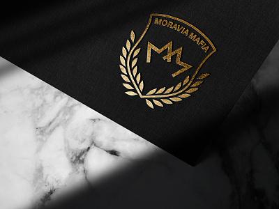 Moravia Mafia - Crest logo design crest  logo design crest logo lettering crest logodesign logo
