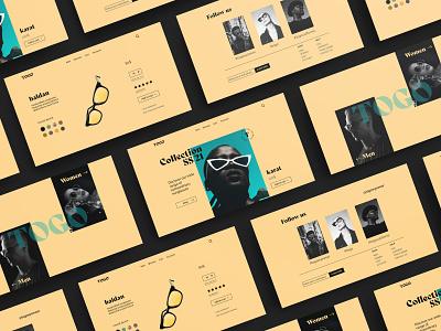 TOGO eyewear ui  ux ui design highendretialer ecommerce design ecommerce sunglasses branding userinterfacedesign webdesign web ui web landing page uiux ux websitedesign website userinterface uidesign ui