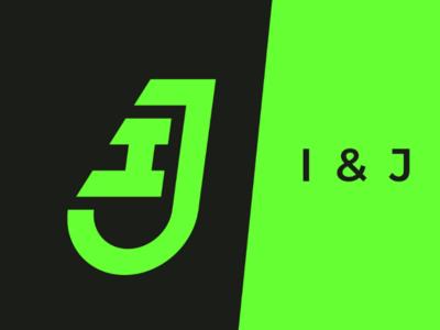 IJ ij i j logo inspiration