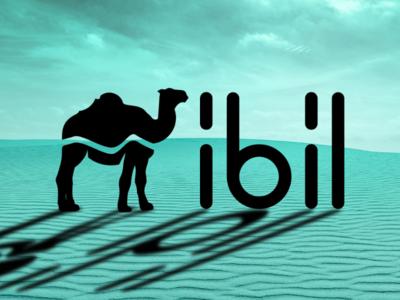 Ibil ibil logo camel desert