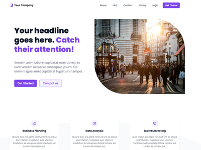 Next Ozone Landing Page Template templates jamstack vercel hero section live demo landing page design landing page landingpage reactjs react tailwindcss tailwind nextjs