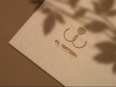 Alwateen logo identity design illustration art branding vector illustration ahmed assem logo
