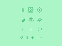 Icon Set for a relationship app