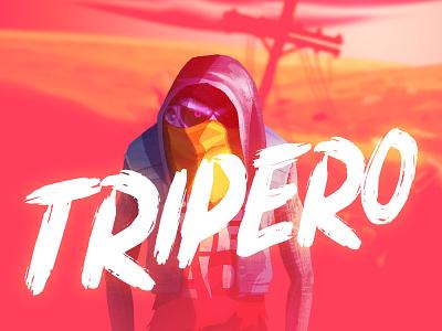 TRIPERO guy character dribbble dribbblers illustration tripero cabezarota