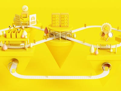 Process Citadel concept art concept cabezarota colombia design 3d illustration dribbblers