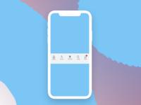 Day 055 Icon Set ui menu uxdesign ux dailyui uxui