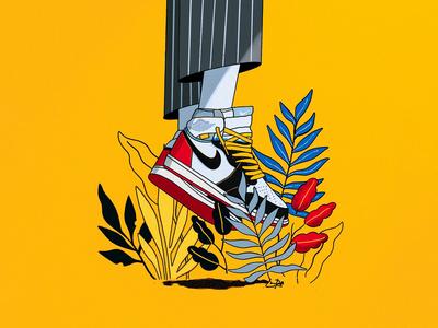 The Chosen 1's 🏆🚨 nike air jordan union la hypebeast sneakerhead procreate basketball jordan illustration