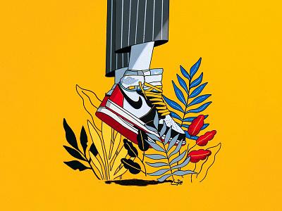 The Chosen 1's 🏆🚨 sneaker nike air jordan union la hypebeast sneakerhead procreate basketball jordan illustration