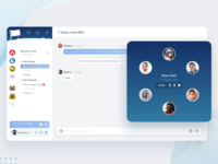 Voice Group Chat dashboard im voice group chat group chat chat voice chat voice