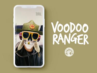 Snapchat Lens - New Belgium: Voodoo Ranger