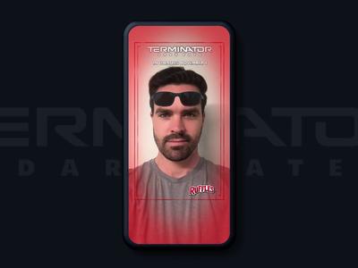 Terminator + Ruffles Snapchat Lens