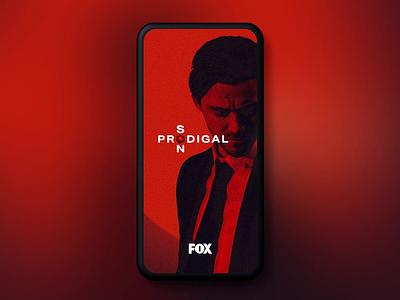 Fox's Prodigal Son Snapchat Lens portal video story social media snapchat snap augmented reality ar