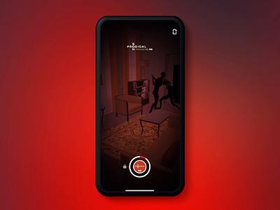 Fox's Prodigal Son Snapchat Lens video story social media snapchat snap augmented reality ar