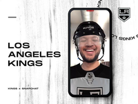 L.A. Kings Augmented Reality - Instagram Effect hockey effect lens instagram augmentedreality advertising social video story social media snapchat snap augmented reality ar