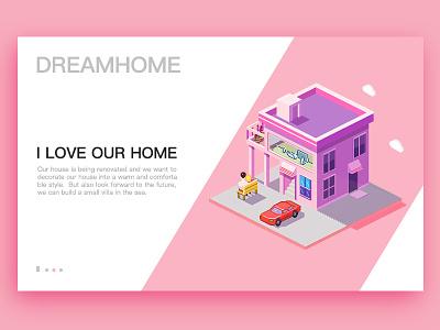 House home- App Interface house dream