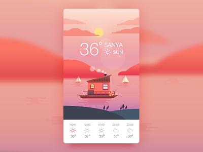 Weather Sun illustration